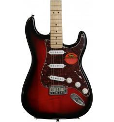Antique Burst, Maple  Squier Standard Stratocaster