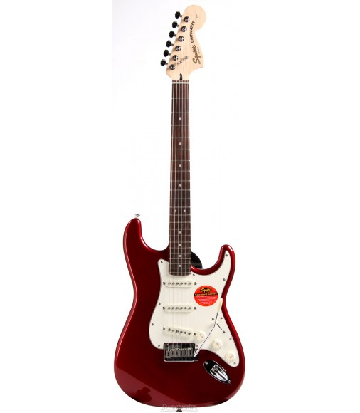 Candy Apple Red  Squier Standard Stratocaster