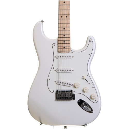 pearl white squier deluxe strat guitars china online. Black Bedroom Furniture Sets. Home Design Ideas
