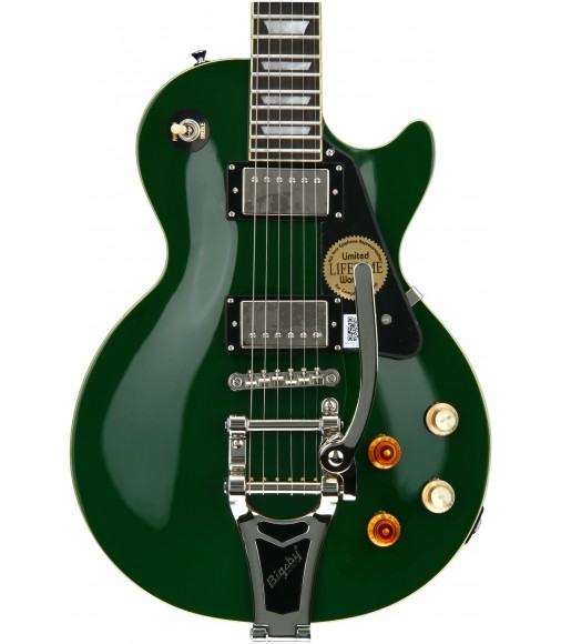 Inverness Green  Cibson Joe Bonamassa C-Les-paul Standard with Bigsby Outfit