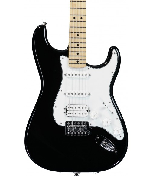 Black, Maple  Fender Standard Strat HSS