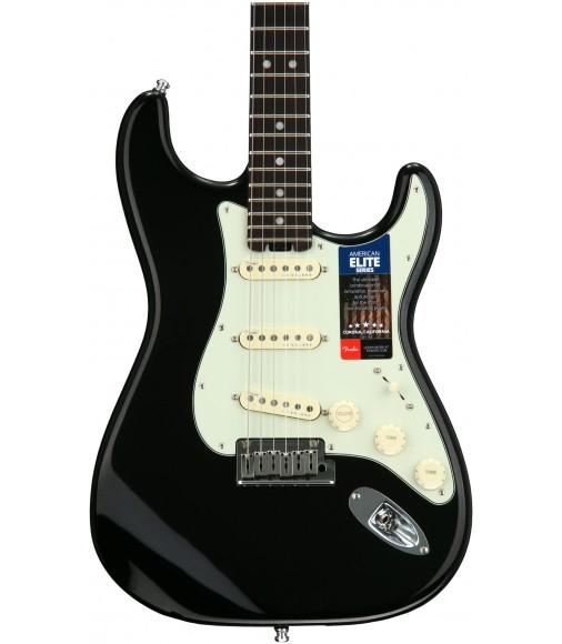 Mystic Black  Fender American Elite Stratocaster, Rosewood