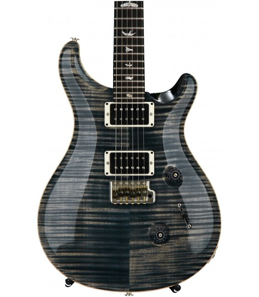 Faded Whale Blue, Pattern Thin Neck  PRS Custom 24, 10-Top