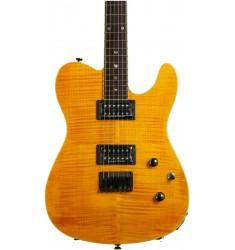 Amber  Fender Custom Telecaster FMT HH