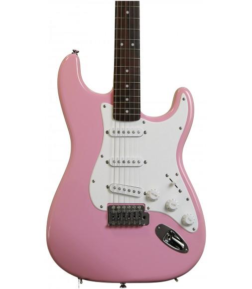 Pink  Squier Bullet Strat