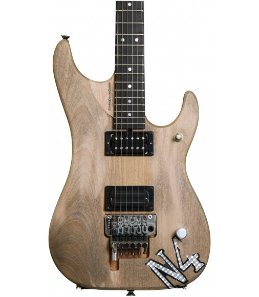 Natural Matte  Washburn Nuno Bettencourt N4 Authentic Electric Guitar