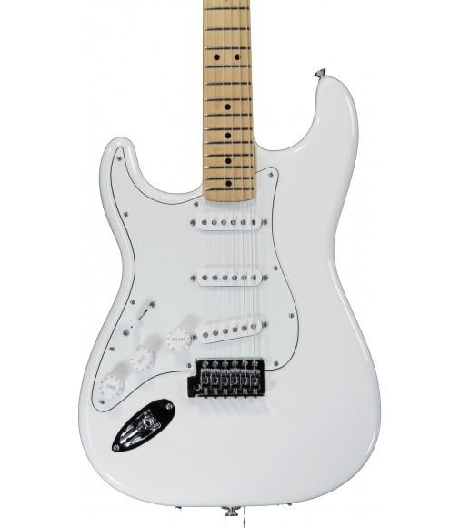 Arctic White  Fender Standard Stratocaster Left Handed