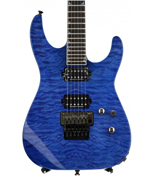 Transparent Blue  Jackson Pro Soloist SL2Q MAH