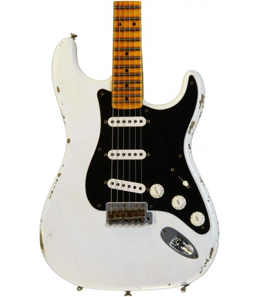 Opaque White Blonde, Shattered Journeyman Relic  Fender Custom Shop Ancho Poblano Stratocaster