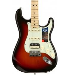 3-Tone Sunburst  Fender American Elite Stratocaster HSS, Maple