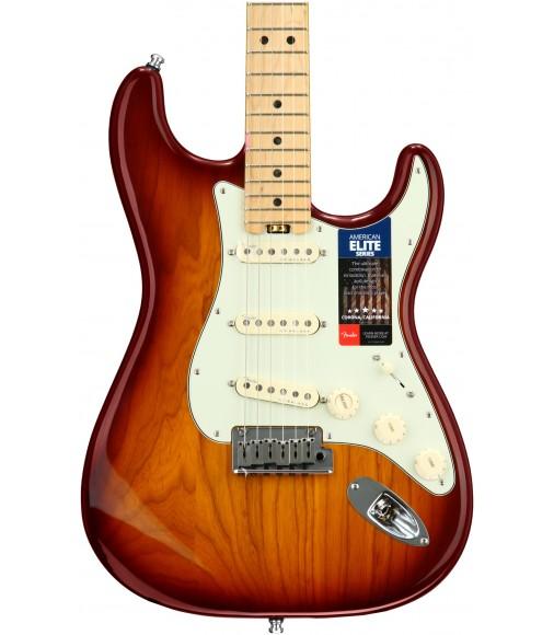 Tobacco Sunburst, Ash Body  Fender American Elite Stratocaster, Maple