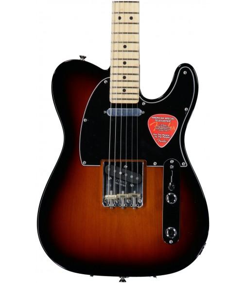 3-Tone Sunburst, Maple  Fender American Special Telecaster