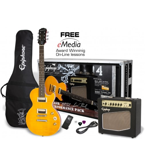 "Cibson Slash ""AFD"" C-Les-paul Special-II Performance Pack"