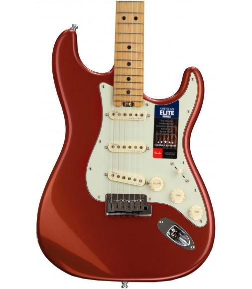 Autumn Blaze Metallic  Fender American Elite Stratocaster, Maple