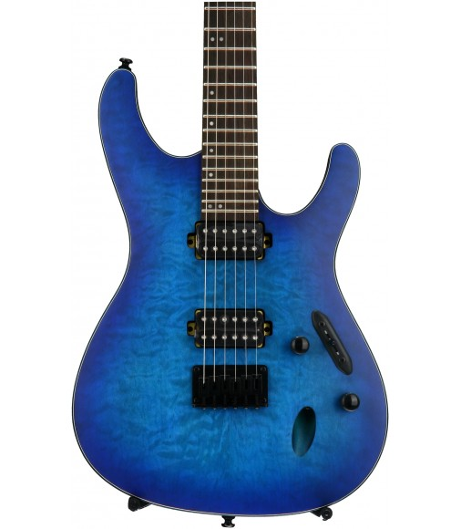 Sapphire Blue Flat  Ibanez S621QM S Standard
