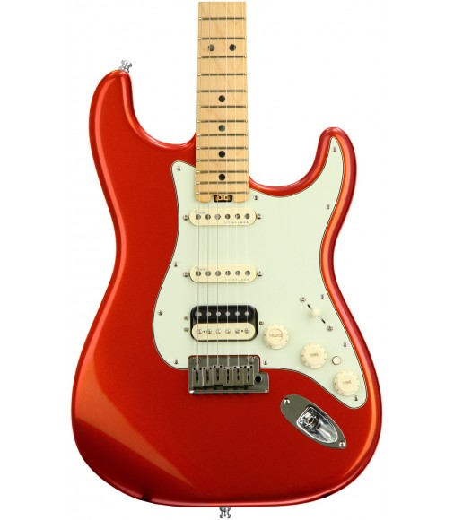 Autumn Blaze Metallic  Fender American Elite Stratocaster HSS, Maple