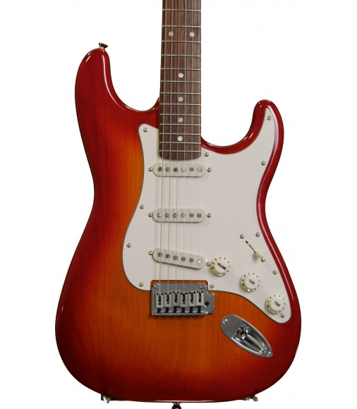 Cherry Sunburst  Squier Standard Stratocaster