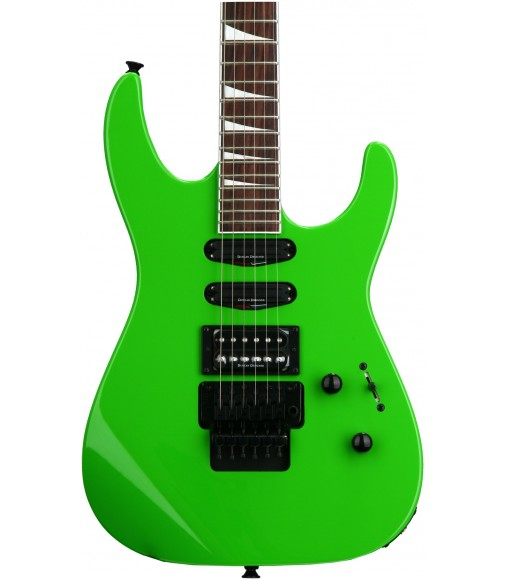 Slime Green  Jackson SL3X Soloist