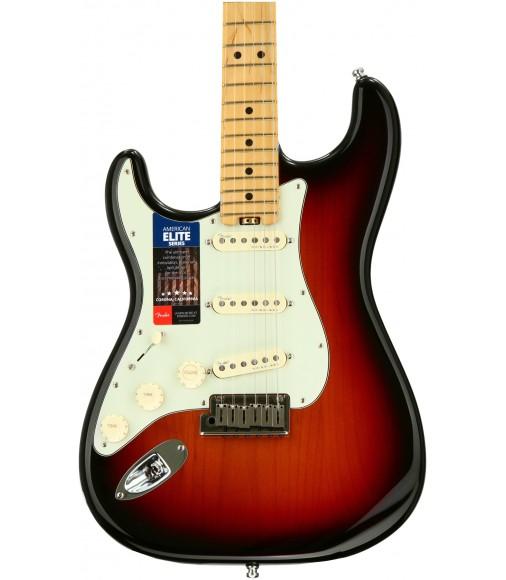 3-Tone Sunburst, Maple  Fender American Elite Stratocaster, Left-Handed