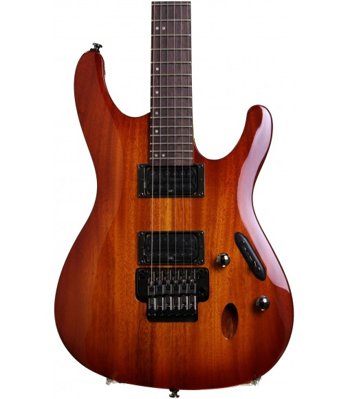 Light Violin Sunburst  Ibanez S520