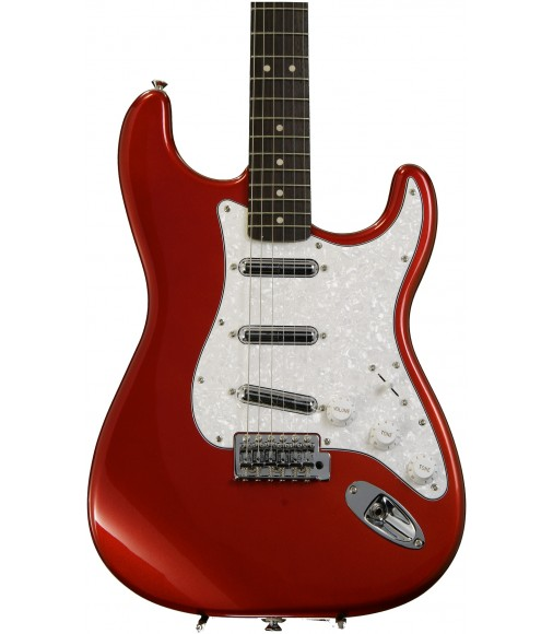 Candy Apple Red  Squier Vintage Modified Surf Stratocaster