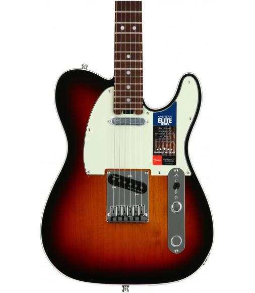 3-Tone Sunburst  Fender American Elite Telecaster, Rosewood