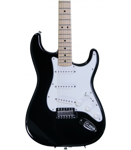 Black, Maple  Fender Standard Stratocaster