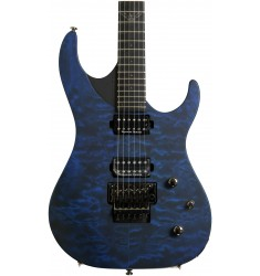 Quilted Trans Blue  Washburn Parallaxe PXM10