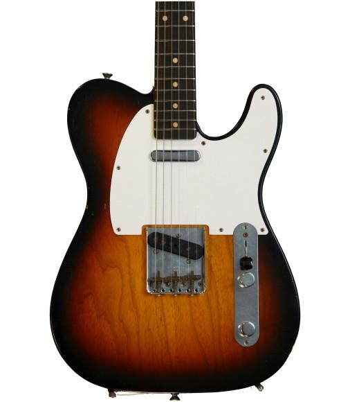 Faded Chocolate 3-Color Sunburst  Fender Custom Shop 1959 Telecaster, Journeyman Relic