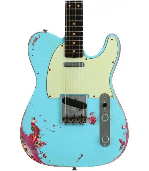 Daphne Blue/Pink Paisley  Fender Custom Shop '60s Telecaster Heavy Relic/Closet Classic Mix