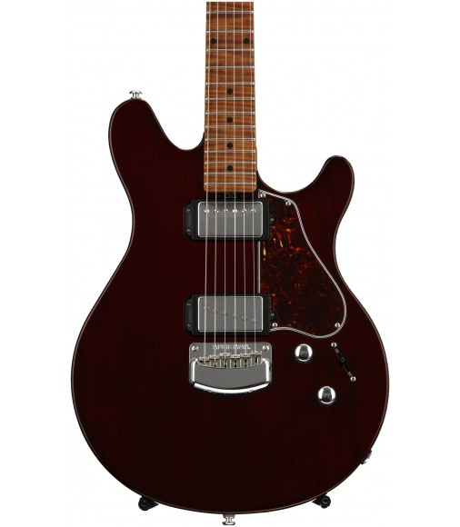Trans Maroon  Ernie Ball Music Man James Valentine
