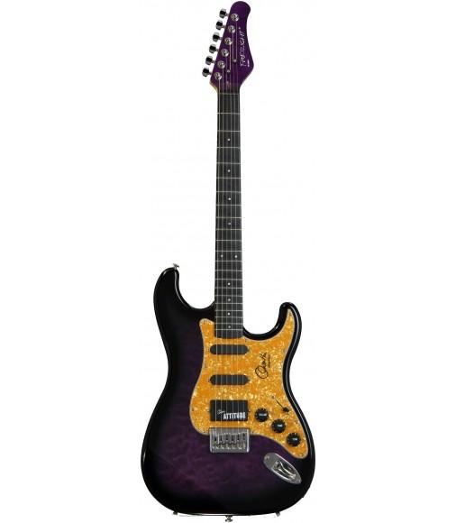 Trans Purple  Fretlight FG-551 Orianthi Signature Electric Guitar Learning System