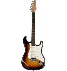 Sunburst  Fretlight FG-521 Guitar Learning System