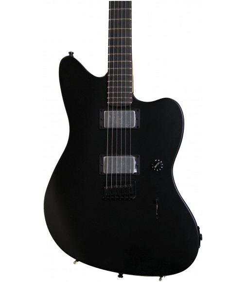 Flat Black, Ebony Fingerboard  Fender Jim Root Jazzmaster