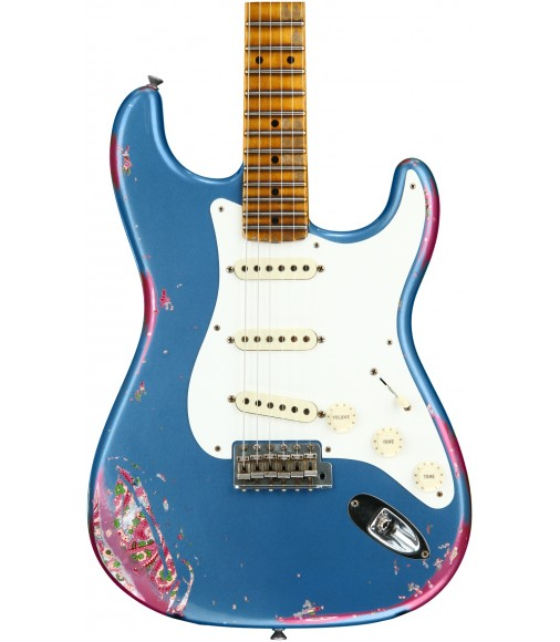 Lake Placid Blue over Pink Paisley  Fender Custom Shop 1957 Heavy Relic Stratocaster