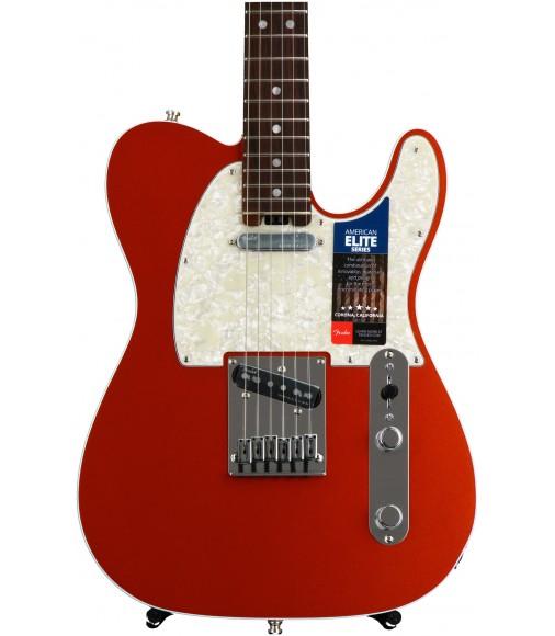 Autumn Blaze Metallic  Fender American Elite Telecaster, Rosewood
