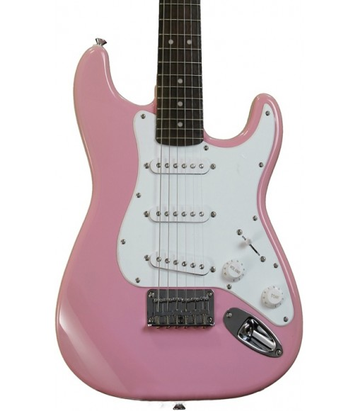 Pink  Squier Strat Mini 3/4 scale