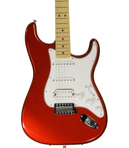 Candy Apple Red  Fender Standard Strat HSS