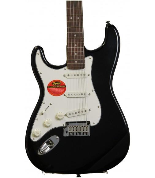Black Metallic  Squier Standard Stratocaster, Left-Handed