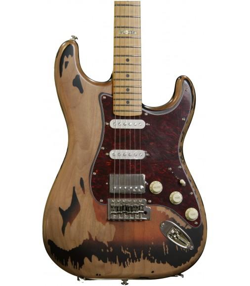 Distressed 2-tone Burst  ESP LTD George Lynch Signature GL-256
