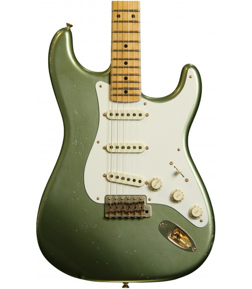 Moss Green  Fender Custom Shop Master Design 1950s Relic Stratocaster