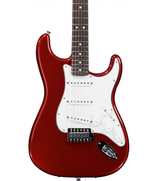 Candy Apple Red, Rosewood  Fender Standard Stratocaster