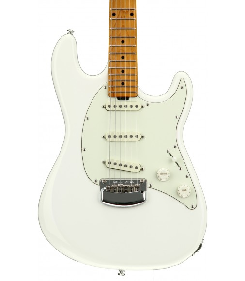 Ivory White  Ernie Ball Music Man Cutlass