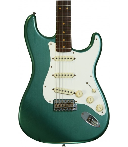 Faded Sherwood Green Metallic  Fender Custom Shop 1959 Stratocaster Journeyman Relic
