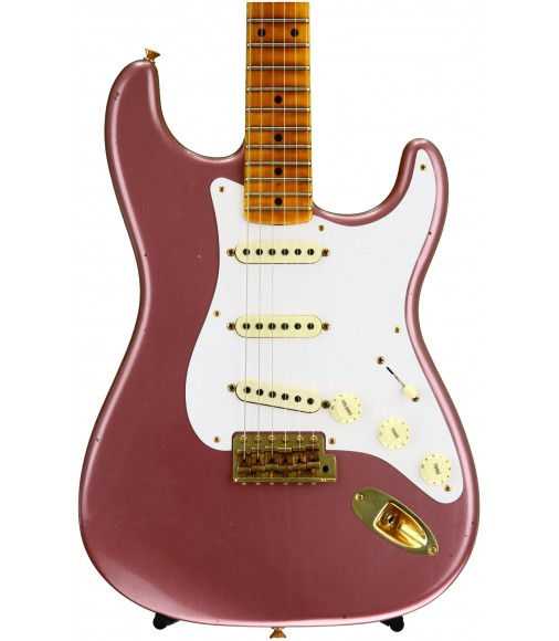 Burgundy Mist Metallic  Fender Custom Shop 20th Anniversary Relic Stratocaster Ltd. Ed.