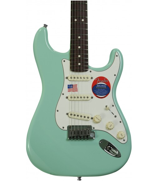 Surf Green  Fender Jeff Beck Strat