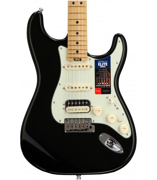 Mystic Black  Fender American Elite Stratocaster HSS, Maple