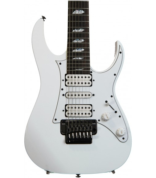 White  Ibanez UV71P Universe Steve Vai Signature 7-String
