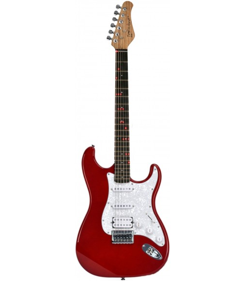 Red  Fretlight FG-521 Guitar Learning System