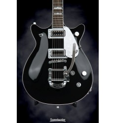 Black  Gretsch G5445T Double Jet with Bigsby